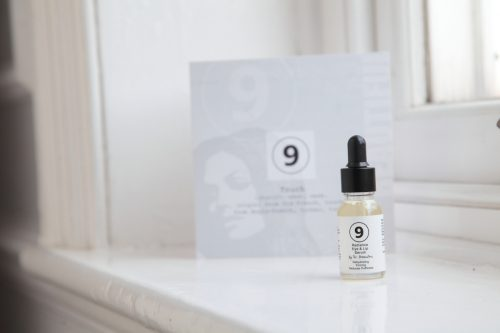 A photograph of 9 skincare serum by Dr Katerina Steventon