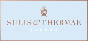 The logo of SUlis and Thermae, a stockist of my serums