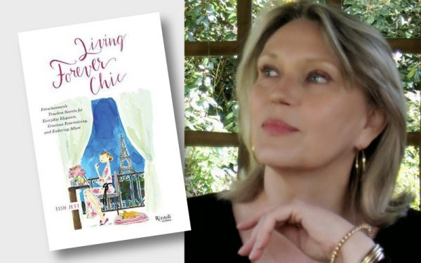 Living Forever Chic by Tish Jett, a book on French women and ageing well