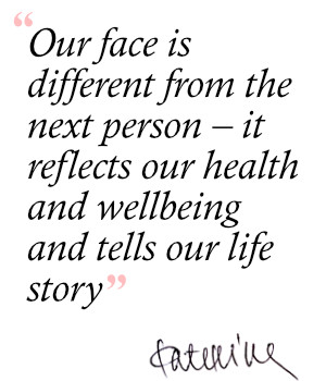 Quote about skincare consultation